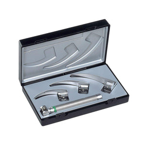 Riester 8050 Ri-integral Fiber Optic Laryngoscope Set, Macintosh Baby-Preferred Medical Plus