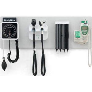 Welch Allyn 77792-MNOBP Green Series Integrated Diagnostic Wall System (All Variations)-Preferred Medical Plus