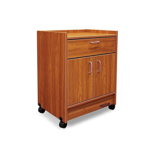 Hausmann Industries A9015-346 Proteam Mega Cart in Oak Finish-Preferred Medical Plus