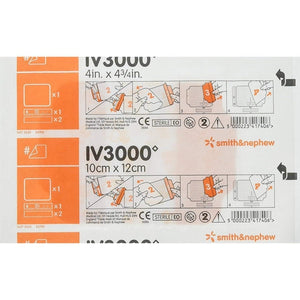 Smith & Nephew 4008 IV3000 IV Dressing (4 in. x 4¾ in.) [EU Packaging]-Preferred Medical Plus