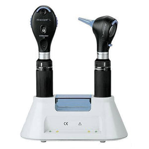 Riester 3746-203.005 Otoscope L2 w/ LED 3.5V, Ophthalmoscope L2 w/ LED 3.5V, Two C-Handles-Preferred Medical Plus