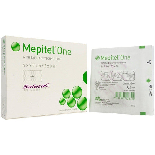 Molnlycke 289100 Mepitel One Silicone Dressing (2 in. x 3 in.)-Preferred Medical Plus