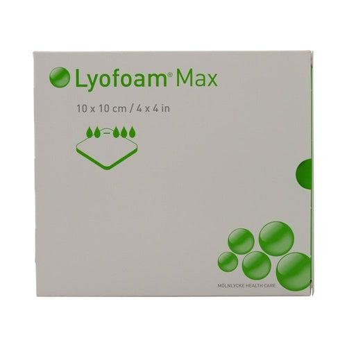 Molnlycke 603201 Lyofoam Foam Dressing (4 in. x 4 in.)-Preferred Medical Plus