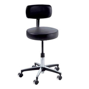 Ritter Midmark 275 Basic Stool with Backrest and Manual Adjustment-Preferred Medical Plus