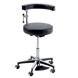 Ritter Midmark 278 Air Lift Surgeon Stool with Pneumatic Foot Release-Preferred Medical Plus