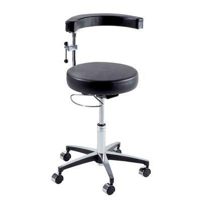 Ritter Midmark 279 Air Lift Surgeon Stool with Pneumatic Hand Release-Preferred Medical Plus