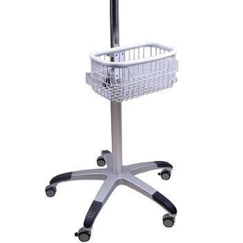 Schiller Medical 0-758001 Rolling Stand with Basket for Tranquility II-Preferred Medical Plus