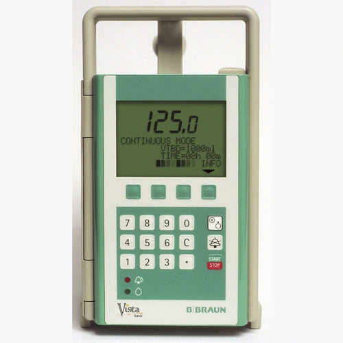 B. Braun 637-202 Vista Infusion Pump Basic-Preferred Medical Plus