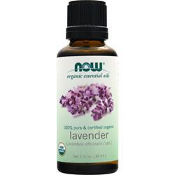 Now Certified Organic Lavender Oil 1 fl.oz