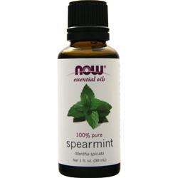 Now Spearmint Oil (100% Pure and  Natural) 1 fl.oz