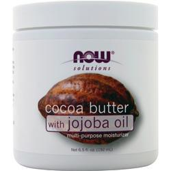 Now Cocoa Butter with Jojoba Oil 6.5 fl.oz