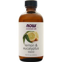 Now Lemon & Eucalyptus Oil Blend 4 fl.oz