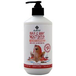 Alaffia Hair & Body Moisturizer - Babies & Kids Coconut Strawberry 16 fl.oz