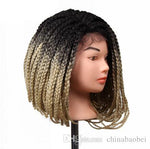 14 Inch Box Braid Crochet Wig