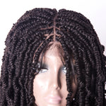 20inch kinky curly spring wig