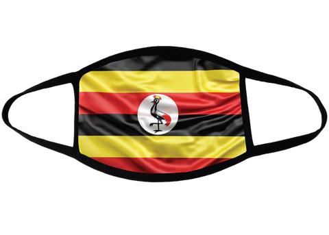 Uganda Sublimation Face Mask