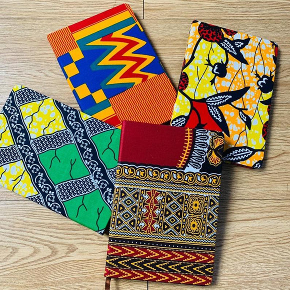 African print or Ankara Note Pad Journal