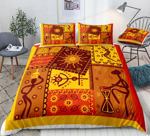 African Duvet Cover Set