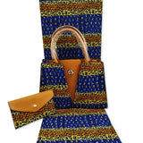 African wax bag African Print and Purse