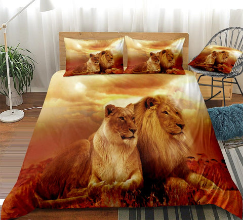 Lion Duvet Cover Set