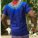 African Dashiki Maxi V Neck T-shirt