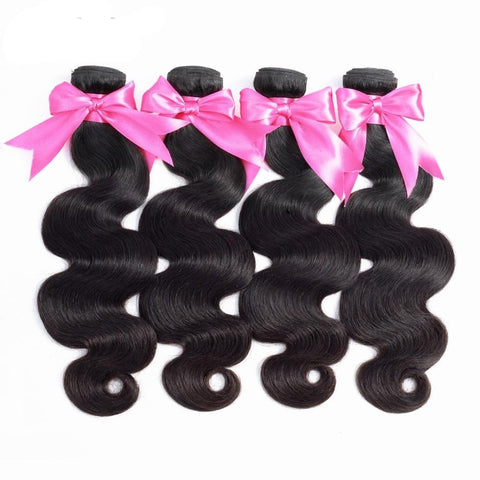 Brazilian Body Wave Hair Extension 100% Remy Human Hair Bundles