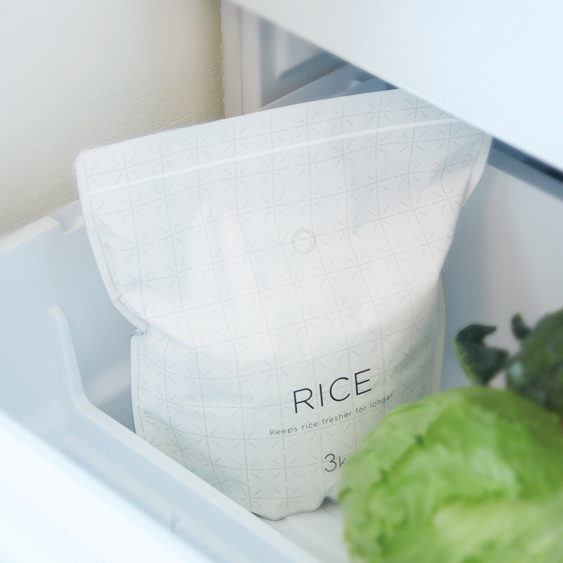 Rice Storage Bag / MARNA 極お米保存袋 3kg x 2枚入-Kitchen-Zak Zakka