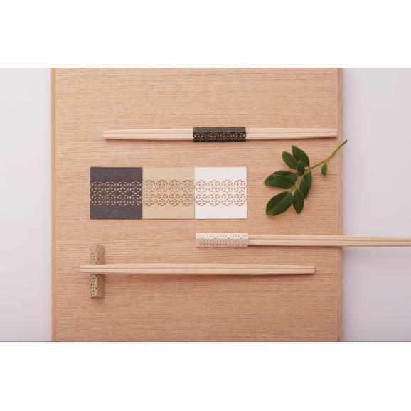 artisan disposable chopsticks of 5 sets / お箸飾り5個セット藍風・利久箸付き-Kitchen-Zak Zakka