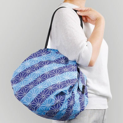 Shupatto Japanese pattern Grocery Bag Medium / MMARNA 和 Shupatto コンパクトバッグ M-Daily Goods-Zak Zakka