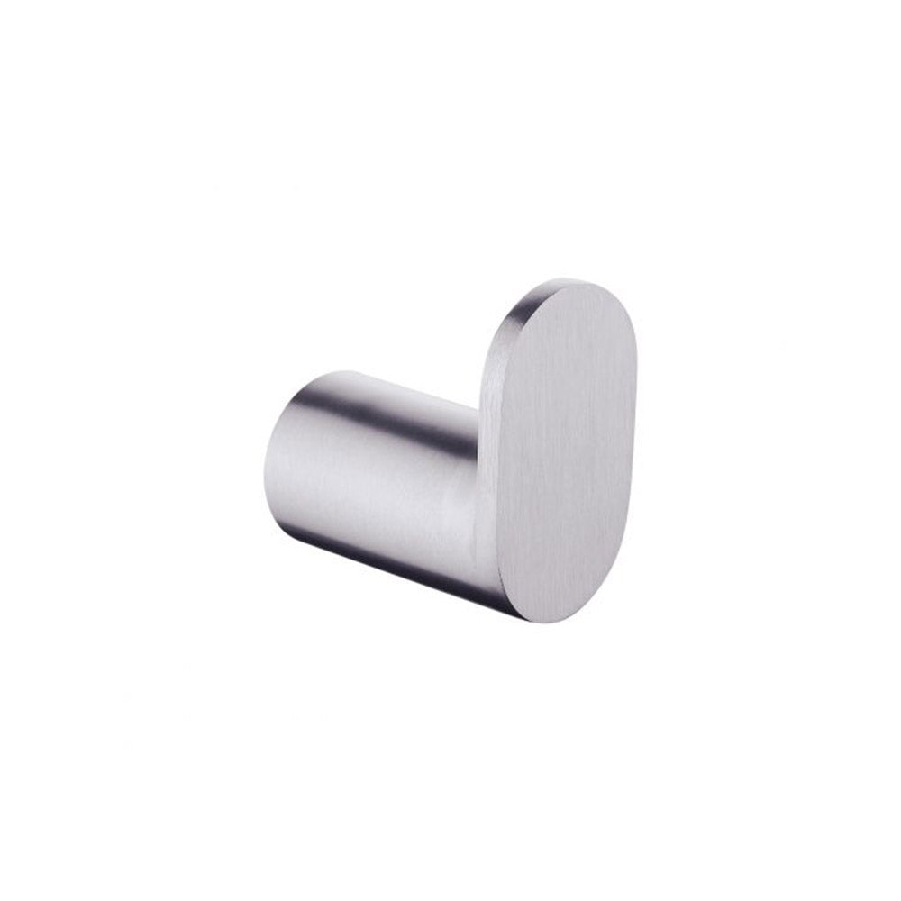 Hash Robe Hook Brushed Nickel