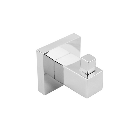 Block Robe Hook Chrome
