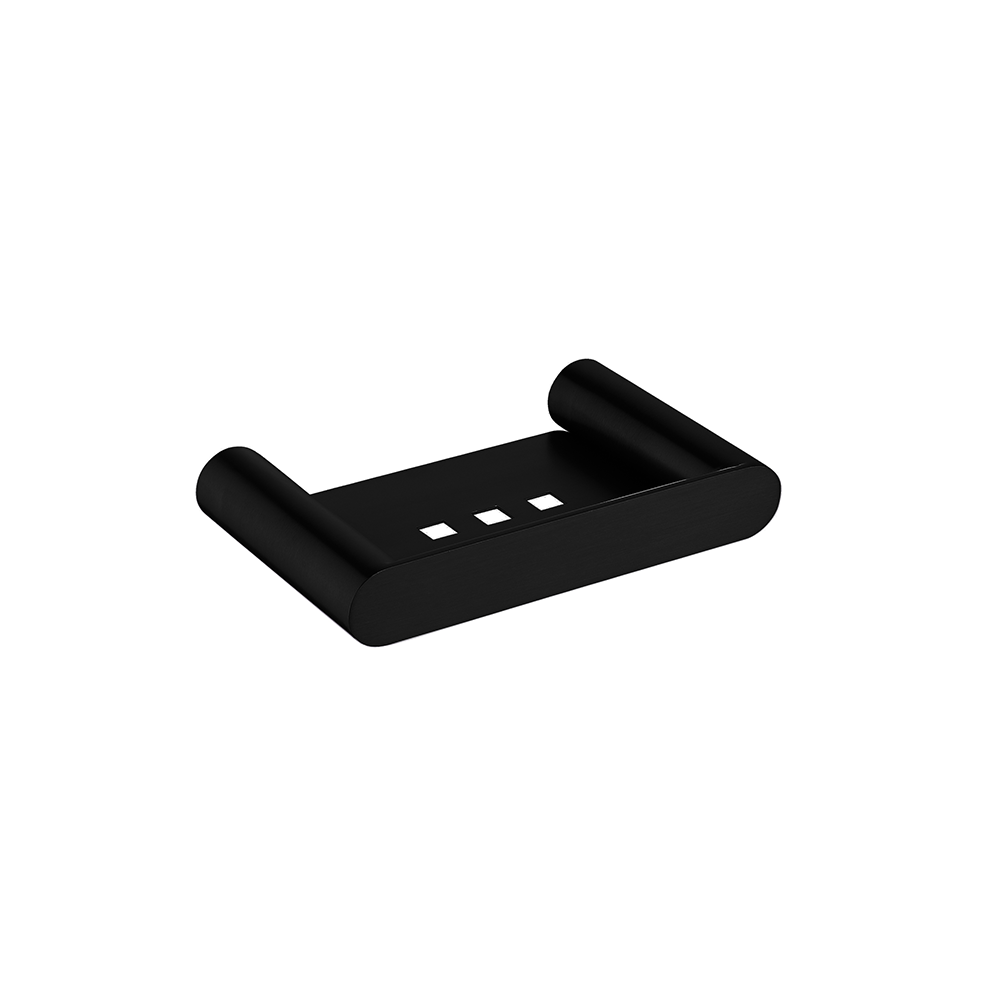 Hash Soap Dish Holder Black
