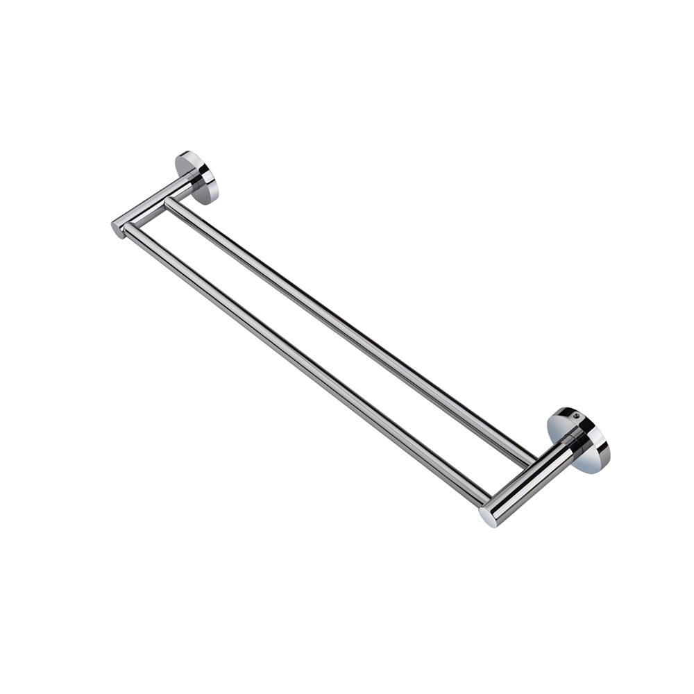 Louis Lever Double Towel Rail 790mm Chrome
