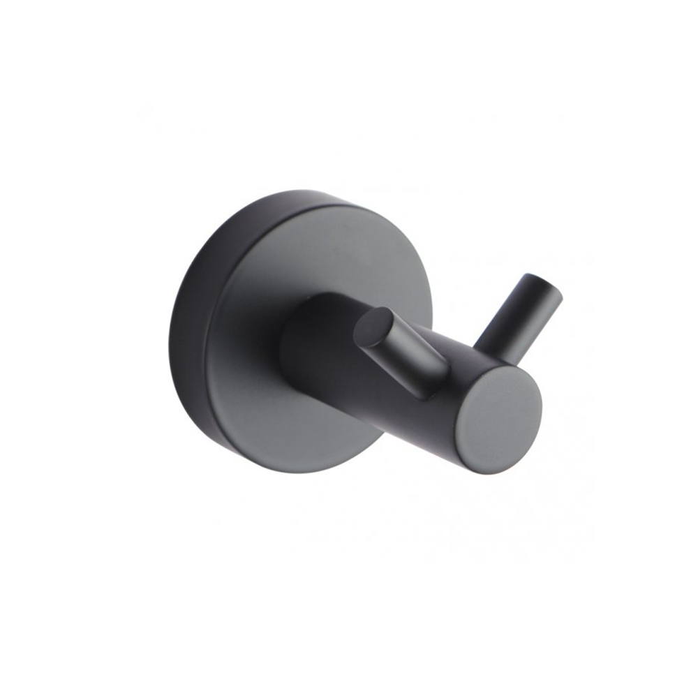 Louis Lever Double Wall Hook Black