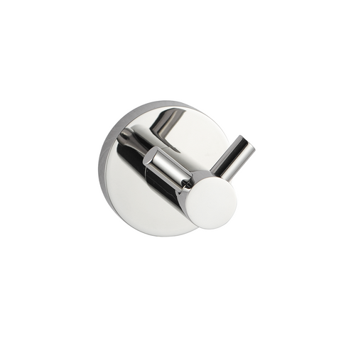 Louis Lever Double Wall Hook Chrome