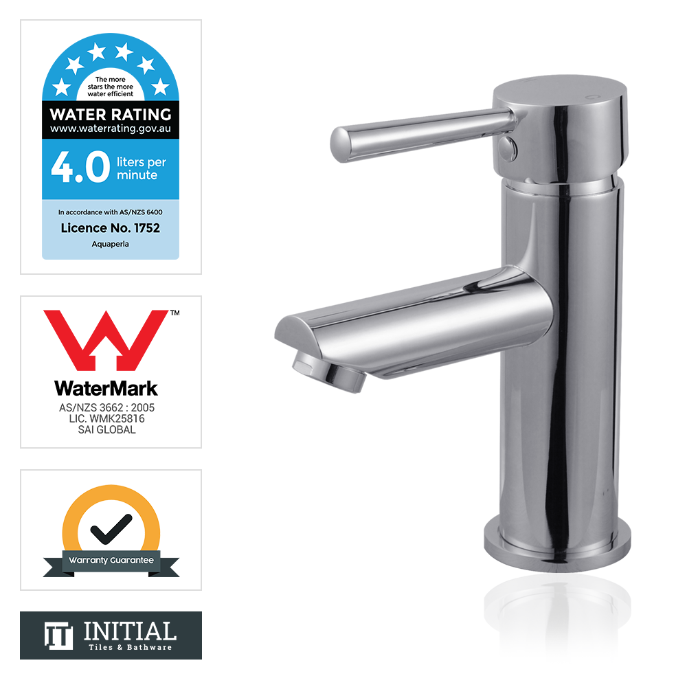 Bathroom Petra Basin Mixer Chrome