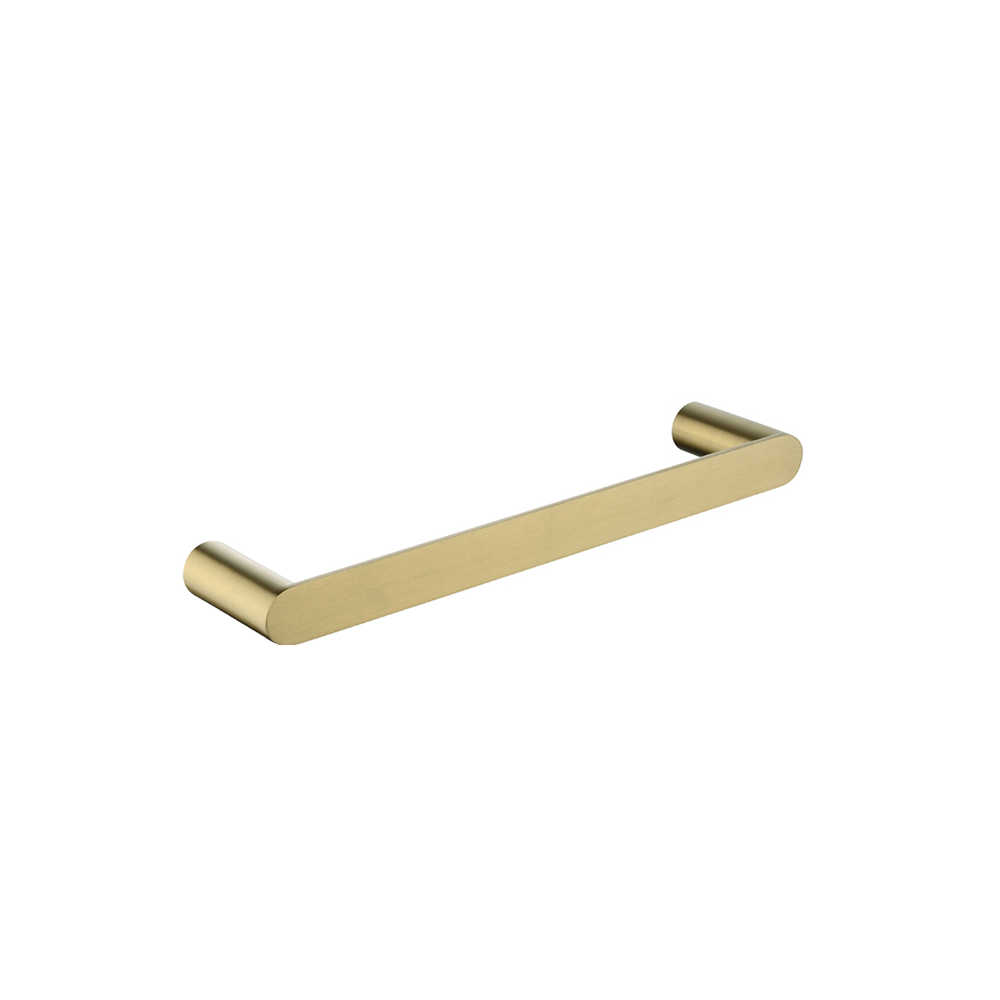 Speranza Hand Towel Rail 200mm Brushed Yellow Gold