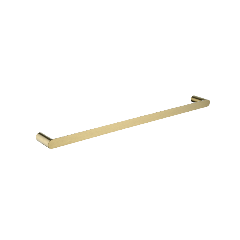 Speranza Single Towel Rail 600mm Brushed Yellow Gold