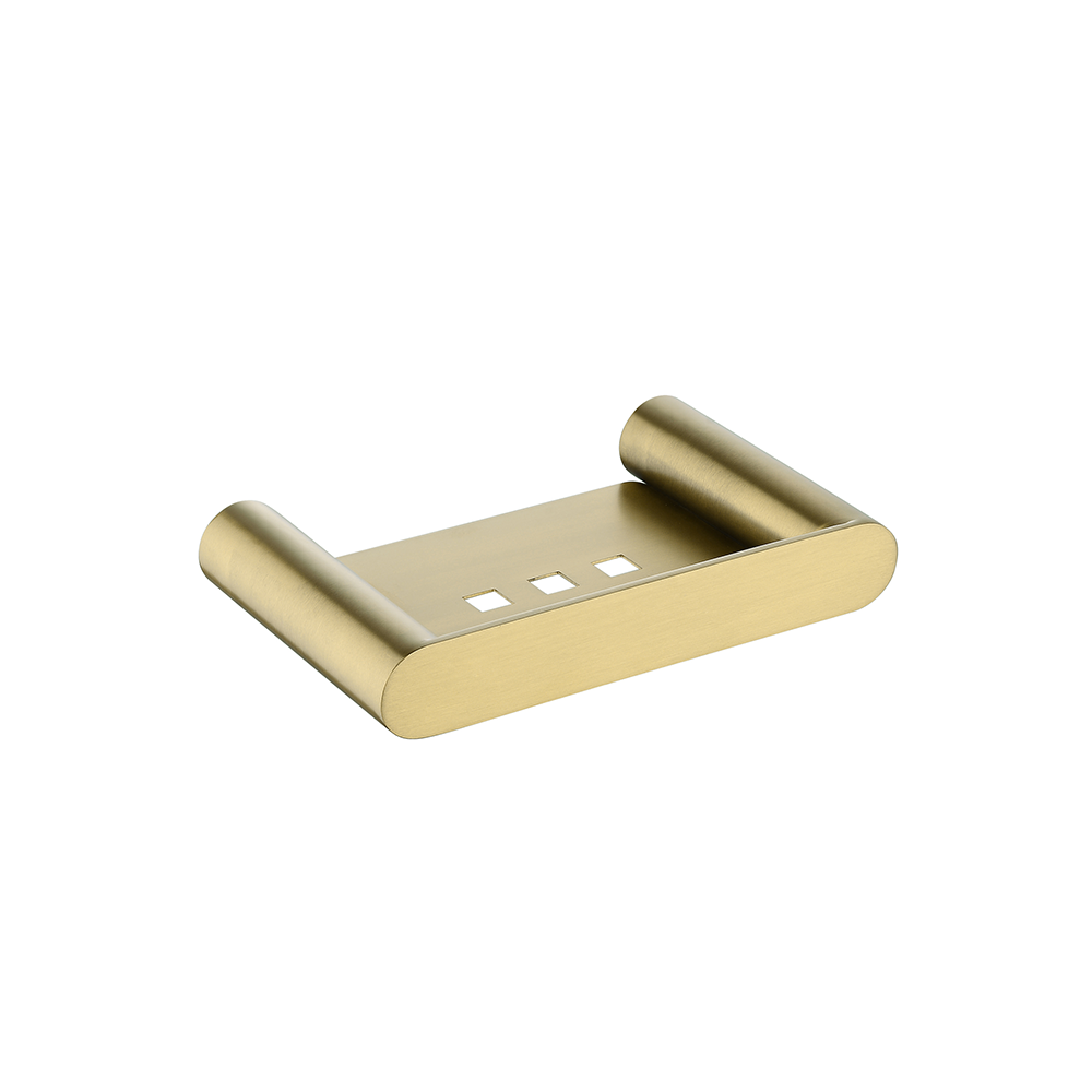Speranza Soap Dish Brushed Yellow Gold
