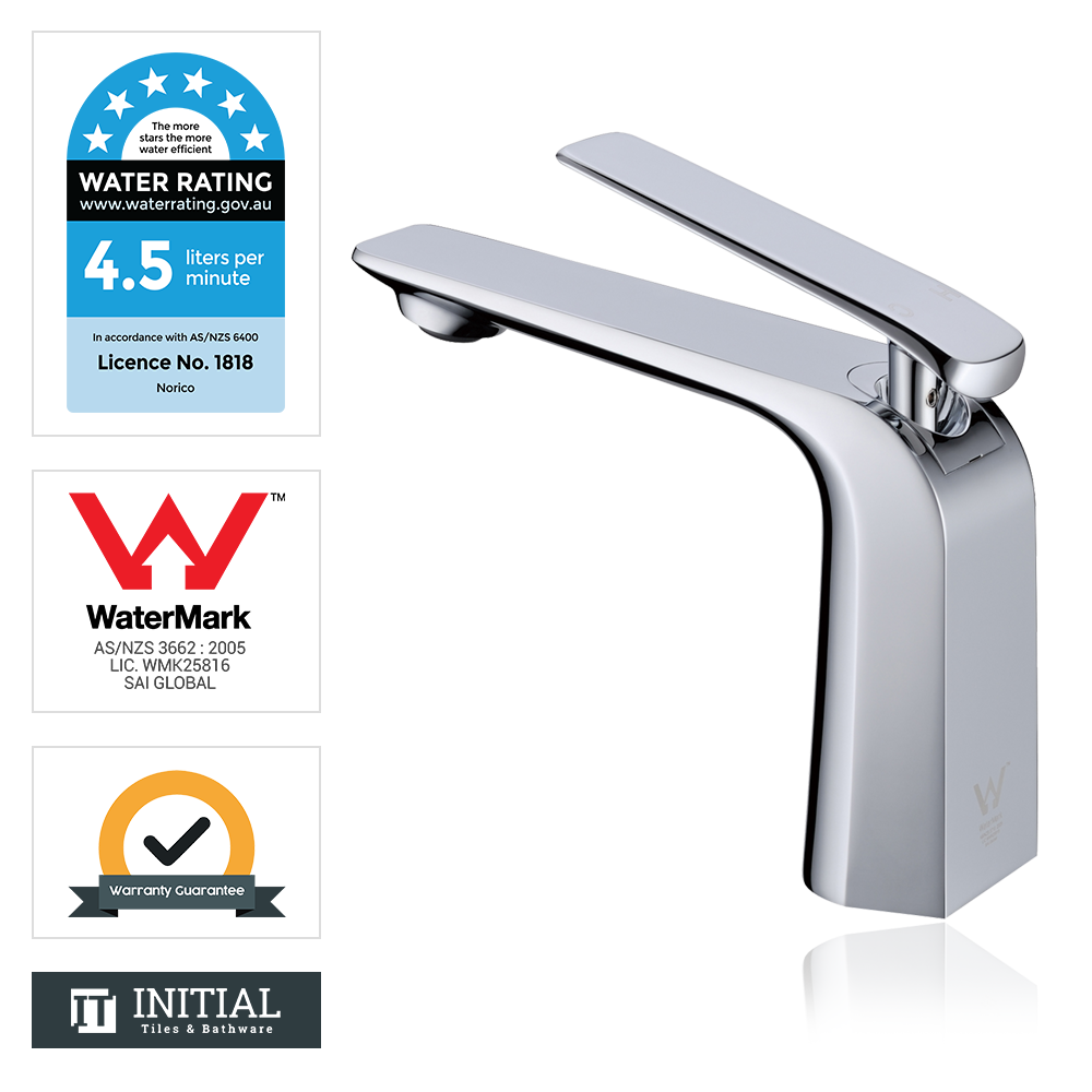 Bathroom Speranza Basin Mixer Chrome