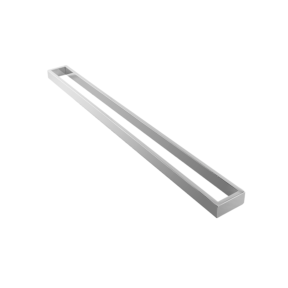 Tera Single Towel Rail 800mm Chrome