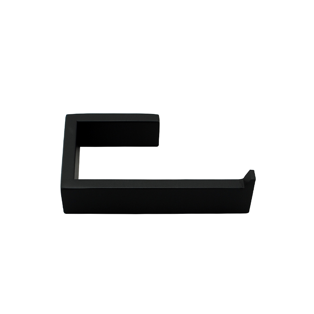 Tera Toilet Paper Holder Black