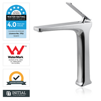 Bathroom Tera Tall Basin Mixer Chrome