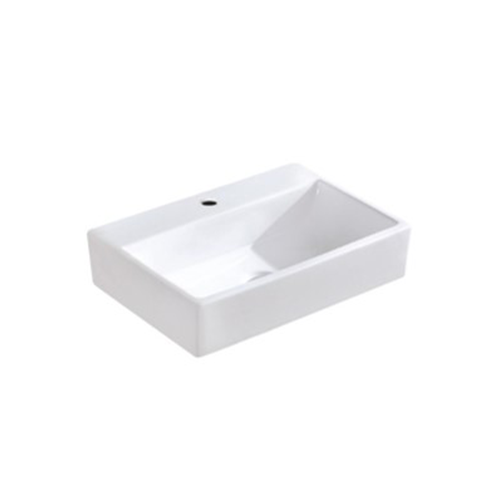 Gloss Rectangle Hand Wash Basin White 520X360X120