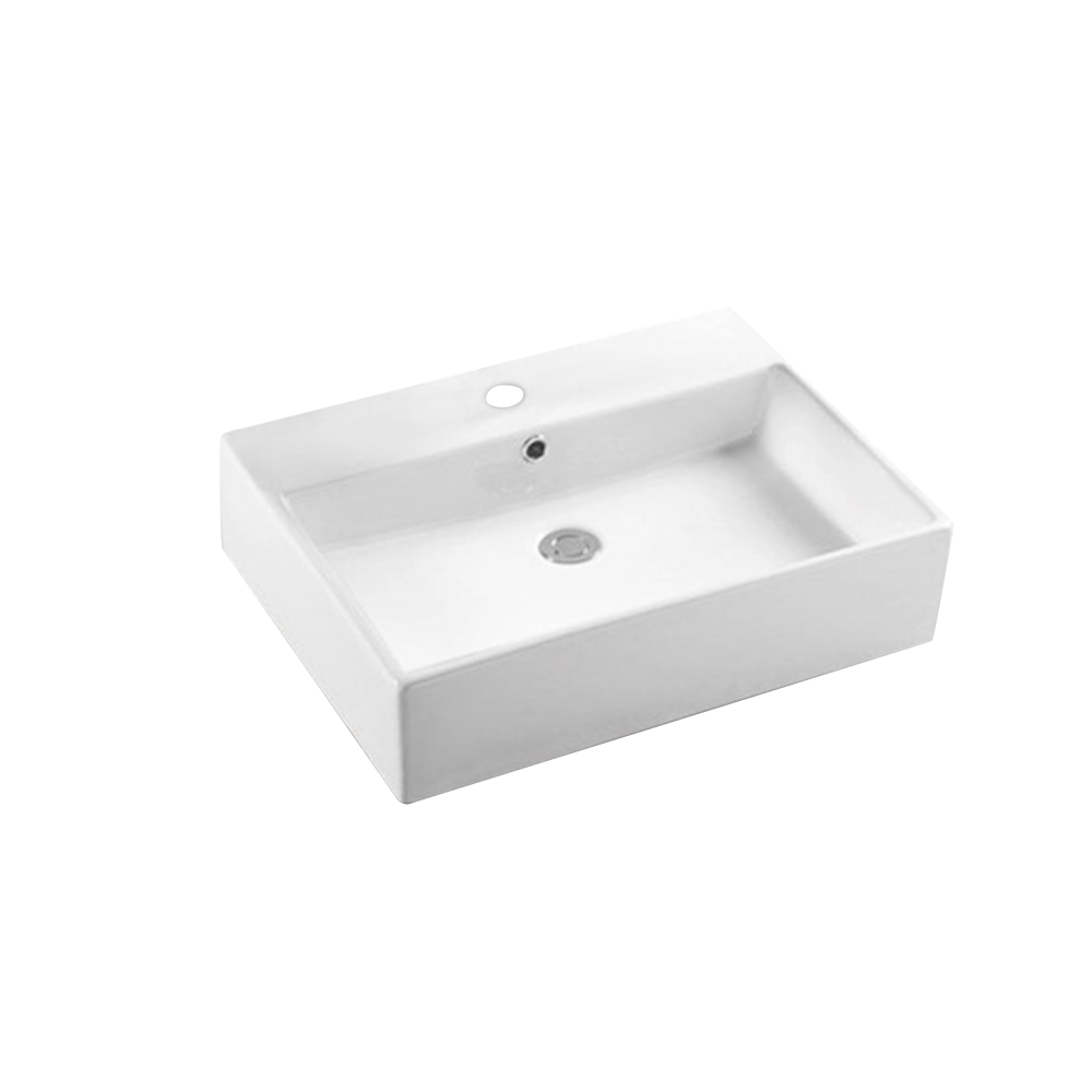 Gloss Rectangle Hand Wash Basin White 700X460X160