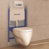 Bathroom Geberit Sigma Framed In Wall Cistern for Wall Hung Pan