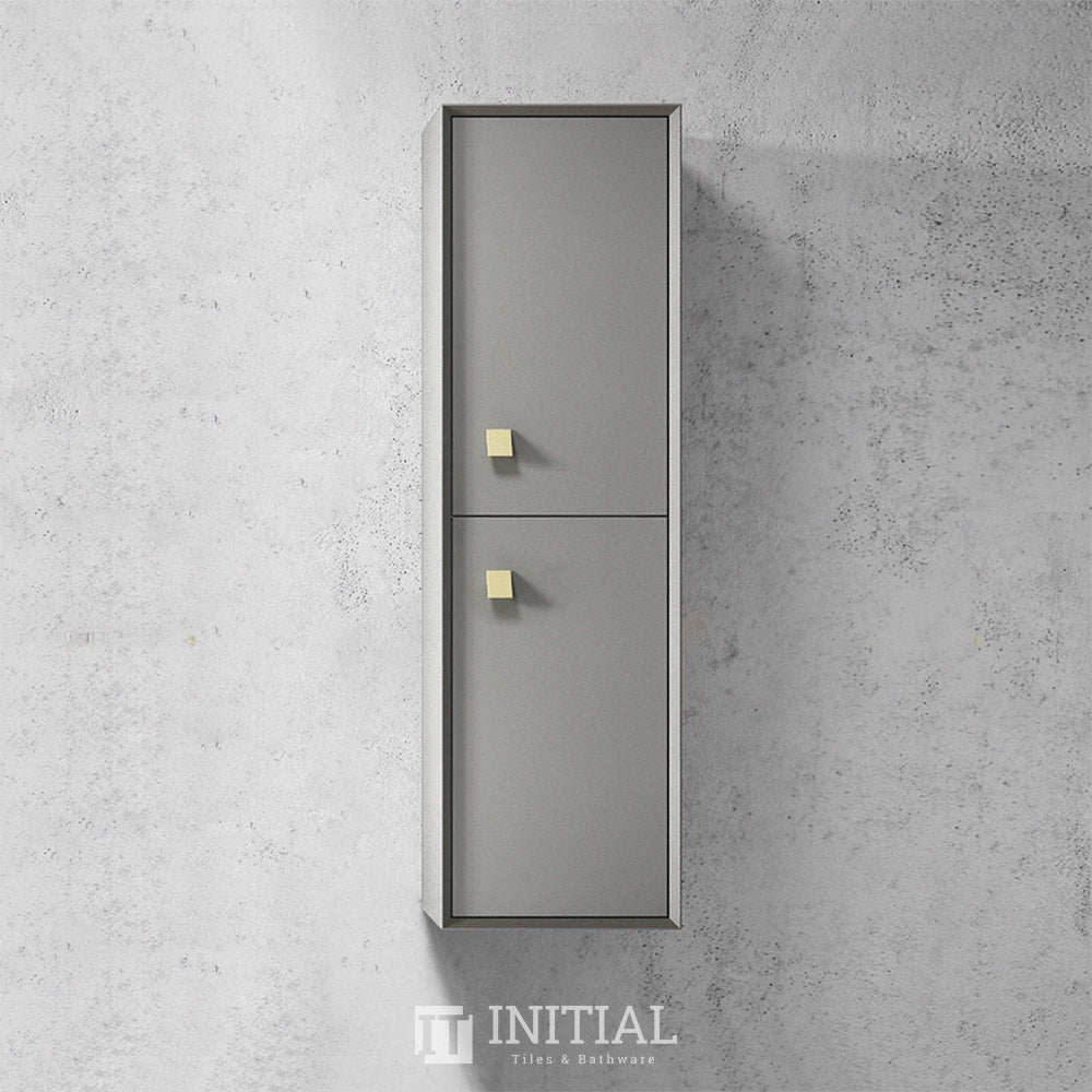 Otti Hugo Wall Hung Tall Boy With 2 Doors Soft closing 350W X 1200H X 300D