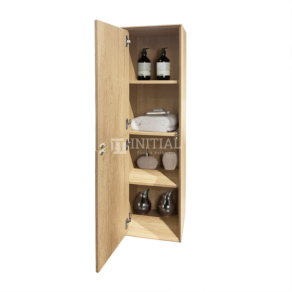 Otti Bruno Wall Hung Tall Boy With 2 Doors Soft closing 350W X 1200H X 300D