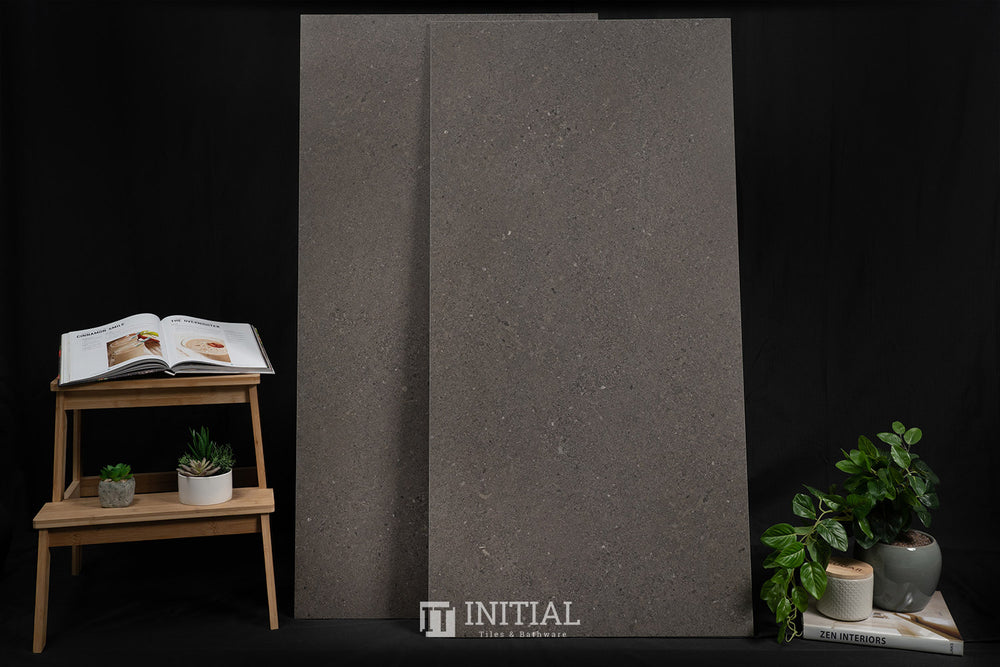 Tasman Dark Grey Porcelain Matt 600X1200