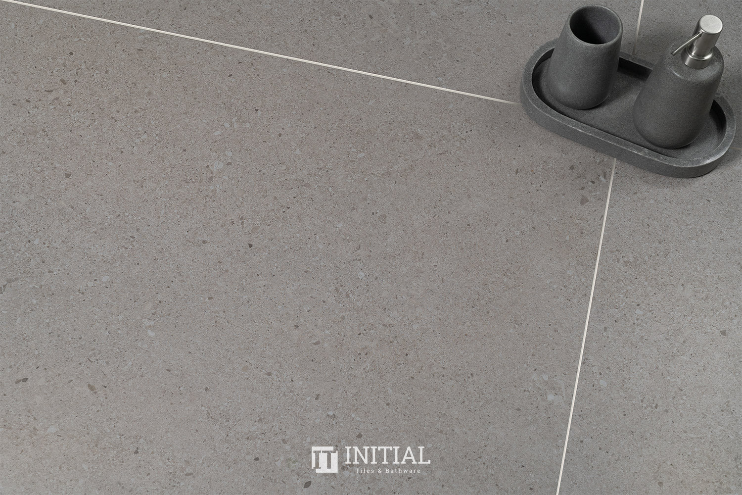 Tasman Light Grey Porcelain Matt 600X1200